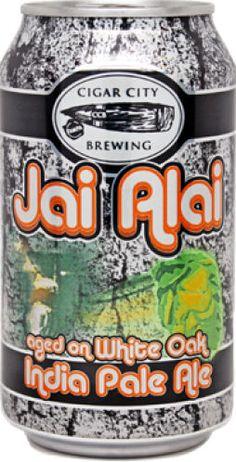 Cigar City Brewing White Oak Jai-Alai beer