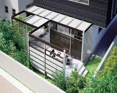 シンプルな目隠しフェンス|お庭・デザイン・エクステリア グリーンケア