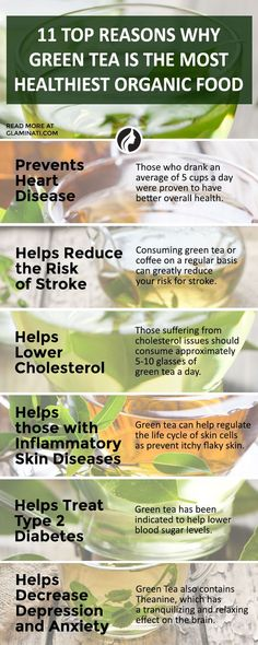 There are many health benefits of green tea that can greatly reduce our risk of disease and improve our overall health  Source: www.glaminati.com