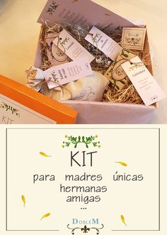 Kit para madres, hermanas, amigas, compañeras.... Siempre hay una persona especial a la sorprender .