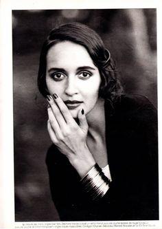 Marie Claire FR - Beautiful Encounters Duxx Siecle - Gail Elliott - May 1988 PETER LINDBERGH
