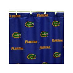 College Covers Florida Gators Printed Shower Curtain Cover, Multicolor