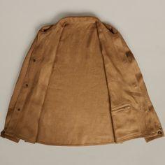 Linen Work Jacket | New Arrivals - Anderson & Sheppard Online Shop - Savile Row Bespoke Tailors since 1906