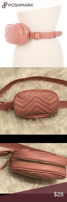 **ONLY 2 LEFT** Fanny Pack (Mauve Belt Bag) •Bag Belt •One Size Fits Most •Has 9 holes to adjust •Belt length: 43inches •Bag length: 8inches •Only available in Mauve ✨FINAL SALE✨ ✨NO REFUNDS✨ TopFashionBoutique Bags Crossbody Bags