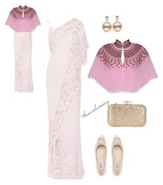 Pink Blush by thenarshamissry on Polyvore featuring polyvore, fashion, style, Needle & Thread and clothing