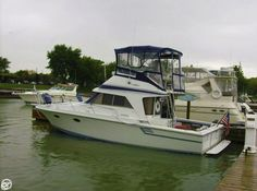 Bottom pant, all teak refinished and all new vinyl cushions on flybridge and back of boat and much more!!