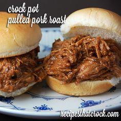 Crock Pot Pulled Pork Roast - Recipes That Crock!