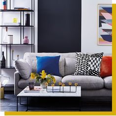 Sophie Robinson Presents Colour Psychology At Habitat – Habitat UK Sophie Robinson, Living Room Decor Inspiration, Color Psychology, Home Trends, Interior Design Living Room, Room Interior, Fashion Room, Colorful Interiors, Home Accessories