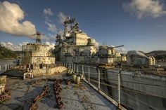Abandoned Warships by BertBeckers, via Flickr