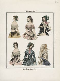 La Belle Assemblee February 1844 LAPL