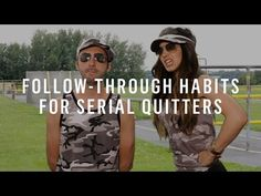 Some of the best advice I've heard from Marie Forleo: Follow-Through Habits For Serial Quitters. I also recommend Refuse To Choose by Barbara Sher.