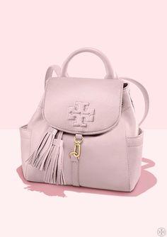 14c3e7546a5 Tory Burch Mini Thea Backpack Tory Burch Bag, Discount Designer Handbags,  Luxury Backpacks,