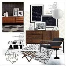 Graphic Art by szaboesz on Polyvore featuring interior, interiors, interior design, home, home decor, interior decorating, Copeland Furniture, Gus* Modern and Natural Curiosities