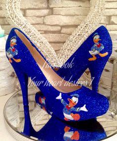Donald Duck wedding shoes