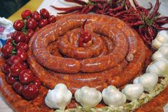 So yummy Hungarian sausage ! kolbasz!