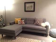 Korver Apartment Sectional - Photo by Julie Goldberg