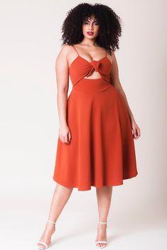 Miranda Dress - Deep Copper