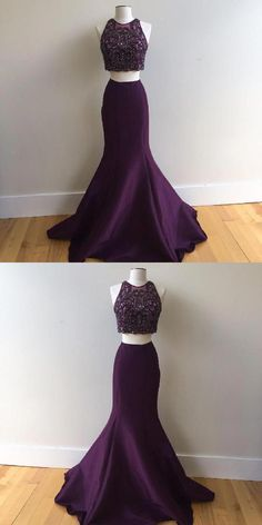 Prom Dresses Ball Gown, Customized Engrossing Two Pieces Prom Dresses, from the ever-popular high-low prom dresses, to fun and flirty short prom dresses and elegant long prom gowns. Prom Dresses Two Piece, Beautiful Prom Dresses, Mermaid Prom Dresses, Ball Dresses, Homecoming Dresses, Ball Gowns, Evening Dresses, Bridesmaid Dresses, Quince Dresses