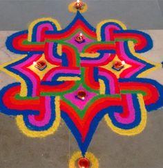 Rangoli Designs and Patterns for Diwali