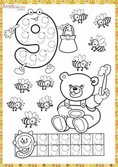 Numbers handwriting sheets for kids Preschool Lessons, Preschool Worksheets, Lessons For Kids, Kindergarten Math, Math Lessons, Preschool Activities, Math Games, Learning Activities, Handwriting Sheets