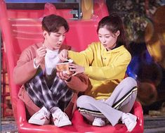 Korean romantic drama, 'My First First Love,' about five young housemates, debuts on Netflix Romance, Love 020, Bride Of The Water God, Korean Tv Series, Jung Chaeyeon, Weightlifting Fairy Kim Bok Joo, Tae Oh, Korean Drama Movies, Korean Couple