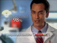 Colgate Dentist DRTV, documentary, it's effective because it shows the product and what advantages it has.