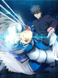 New Fate/Zero Next Encounter card set to come out on 10/31, featuring Saber and Kotomine Kirei!