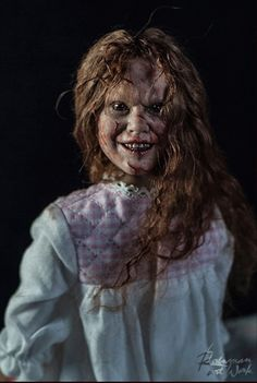 Girl of Satan (Regan from The Exorcist) figure by Rainman
