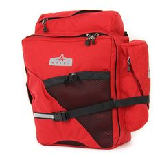 Arkel Lite touring rear panniers for your bike Bike Panniers, Bicycling, Biking, Touring, Pairs, Classic, Red, Cycling, Derby