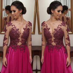 Ateliê Juliana Santos vestido de festa rosa bordado