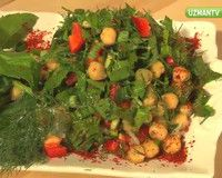 Nohut salatası nasıl yapılır sorusunu Yemek Blogu Yazarı Ayşegül Öğüt görüntülü yanıtlıyor