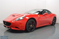 Check out this gorgeous 2012 Ferrari California convertible! Available now at Morrie's Luxury Auto.