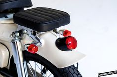 Honda Cub C70 Deus Sea Sider by Deus Motorcycles - mini4temps.fr