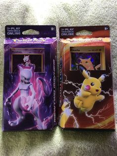 Pikachu & Mewtwo Pokemon TCG XY Evolutions Theme Deck Game   | eBay