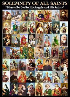 Catholic All Year, Catholic Prayers, Catholic Saints, Roman Catholic, Apostles Creed, All Saints Day, Immaculate Conception, St Therese, Saint Quotes