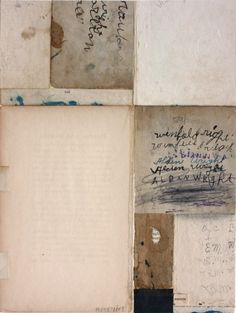 Cecil Touchon - Fusion Series #2587 - collage on paper - 2008