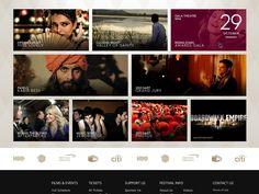 Dribbble - Film Festival WIP by Shane Helm
