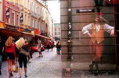 Ghost in Riga 2008 shot with Smena 8M . . . . . #riga #latvia #film #ishootfilm #kodak #smena #lomo #lomography #doubleexposure #streetstyle #streetphotography #snapshot