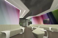 LIV HOSPITAL ULUS-Waiting hall/area-By Zoom/TPU What colour can do to a space!