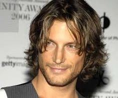 Image result for hairstyles with long hair for men