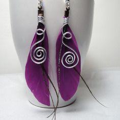 Boucles d'oreilles plumes féériques tribales violettes Cha'perli'popette - créatrice belge de bijoux artisanaux http://www.alittlemarket.com/boutique/cha_perli_popette-951481.html?pushPromotion=6 Retrouvez moi sur facebook ! Cha perli popette https://www.facebook.com/pages/Chaperlipopette/378595345610288