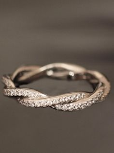 Infinity band for promise ring? I think yes please.