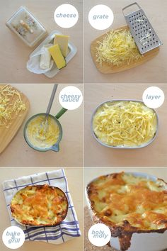 "Holy Moly is right  - Homeroom worthy mac and cheese using unconventional cheeses. ""Aim to use as much cheese as possible - More than you think is appropriate.""  From the awesome Miss Moss."