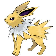 File 135Jolteon.png ❤ liked on Polyvore featuring anime and pokemon