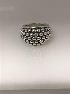 Michael Dawkins Multi-Row Band Ring, Sterling Silver, Size 8 #MichaelDawkins