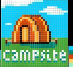 Affiche pour camping ACNL