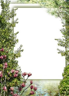 Borders For Paper, Borders And Frames, Flower Backgrounds, Wallpaper Backgrounds, Bible Images, Frame Background, Garden Images, Frame Template, Scrapbooking