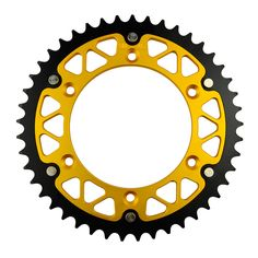 Motorcycle Parts Steel Aluminium Composite 45~52 T Rear Sprocket for SUZUKI RM250 1983 1987-2009 RMX250 1989-2002 Fit 520 Chain