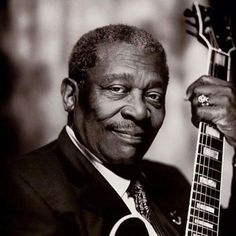 B.B. King (September 16, 1925 ~ May 14, 2015)