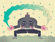 illustrator Derek Ercolano illustration